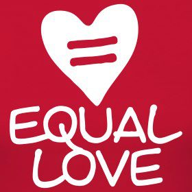 red sign Equal-Love