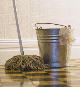 buckt and mop