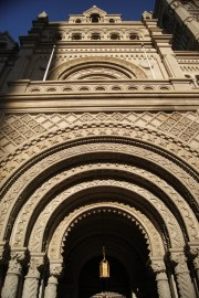 Arched doorway of the Masonic Temple