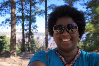 At the North Rim of Grand Canyon, Visitor's Center