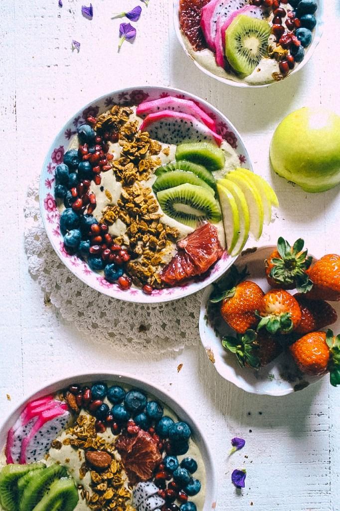 FEEDback Book Recipe: Flexible Avocado Smoothie Bowls