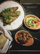 Chicken Liver, Muhammara, Baba Ghannoush