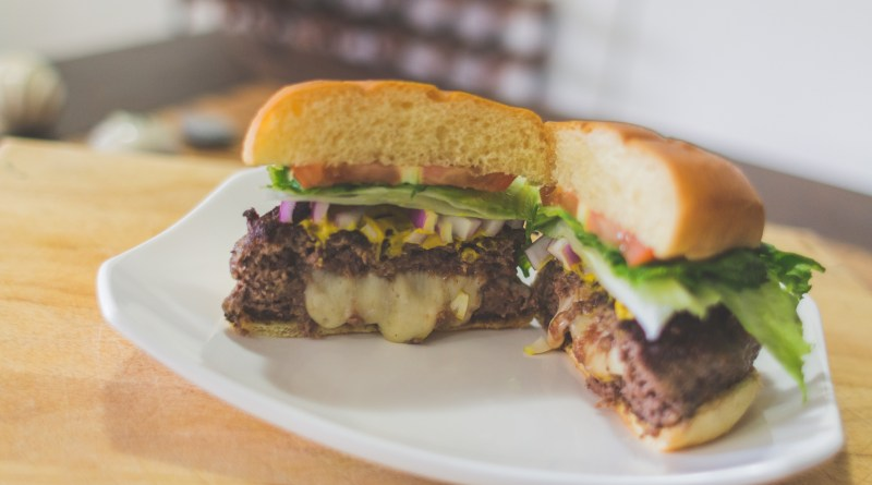 Havarti Stuff Venison Burger