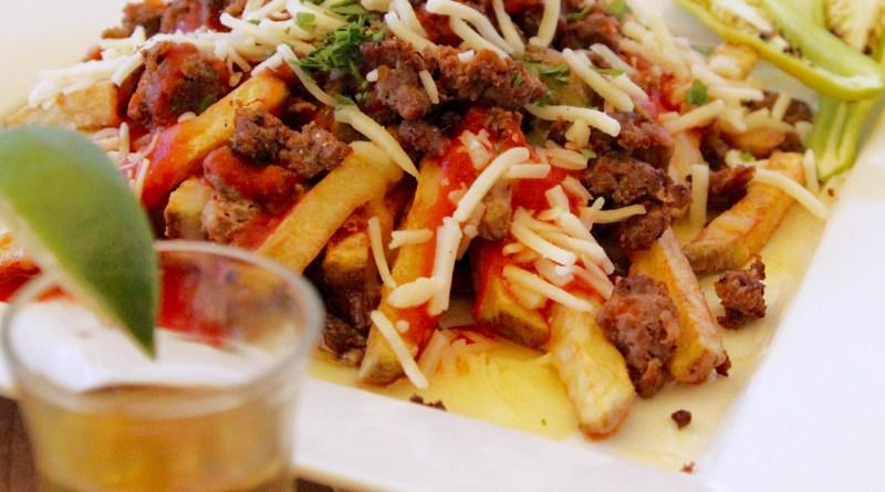 Venison Enchilada Fries