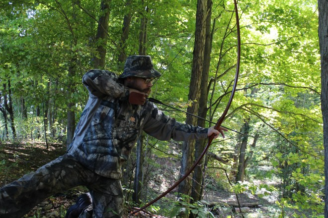 Learning to shoot a Longbow