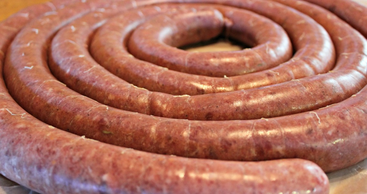 Wild Game Wednesday: Venison Sausage