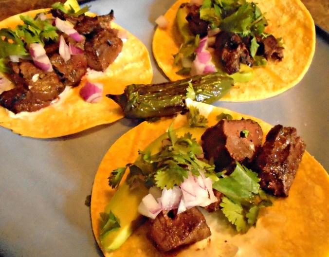 Venison Heart Tacos