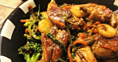 Spicy Squirrel Stir Fry