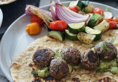 Za'atar Spiced Venison Meatballs