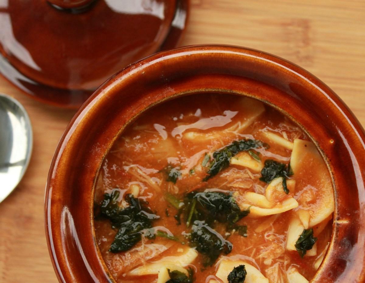 Squirrel Noodle Soup
