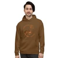 Unisex Running Deer Hoodie