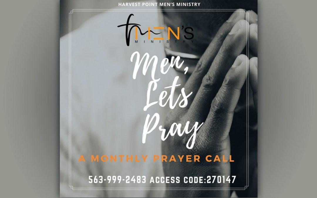 Men's Prayer Call