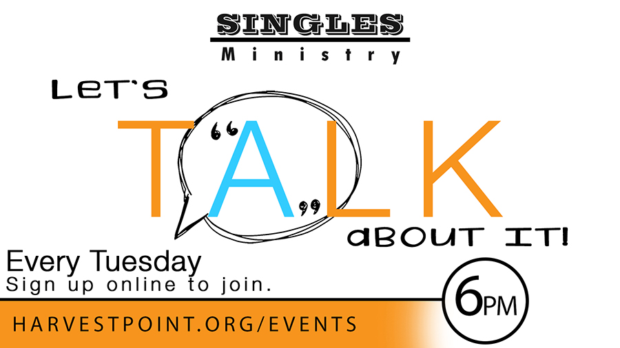 Singles! Let's Talk About It!