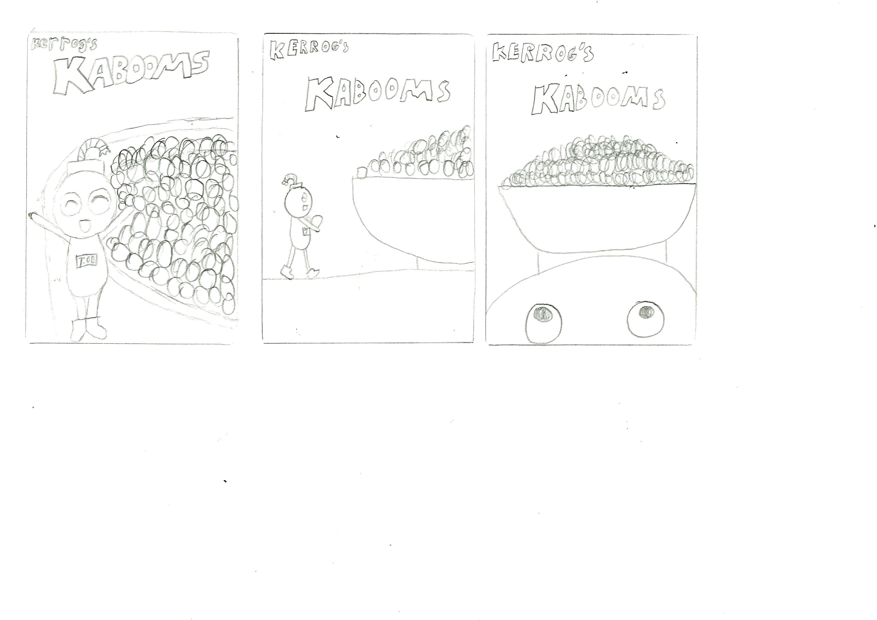Cereal Box Session 01 Graphics Design