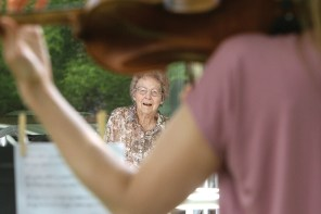 A century of life: Gertrude Olson honored with concert