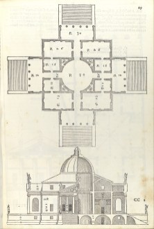 Villa Almerico (Villa Rotunda), from I quattro libri dell'architettura di Andrea Palladio (Book 2, page 19), Christoph Krieger, The Metropolitan Museum, New York