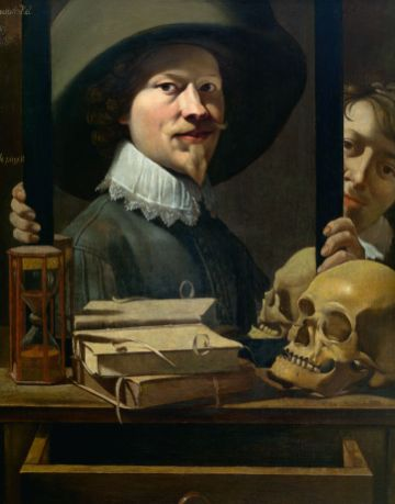 Vanity portrait of the painter, Antoine Steenwinkel, KMSKA