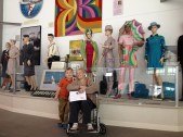 Same museum, Brannif stewardess exhibit.
