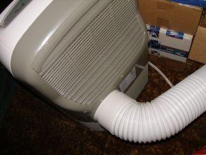 Haier Portable Air Conditioner hose vent
