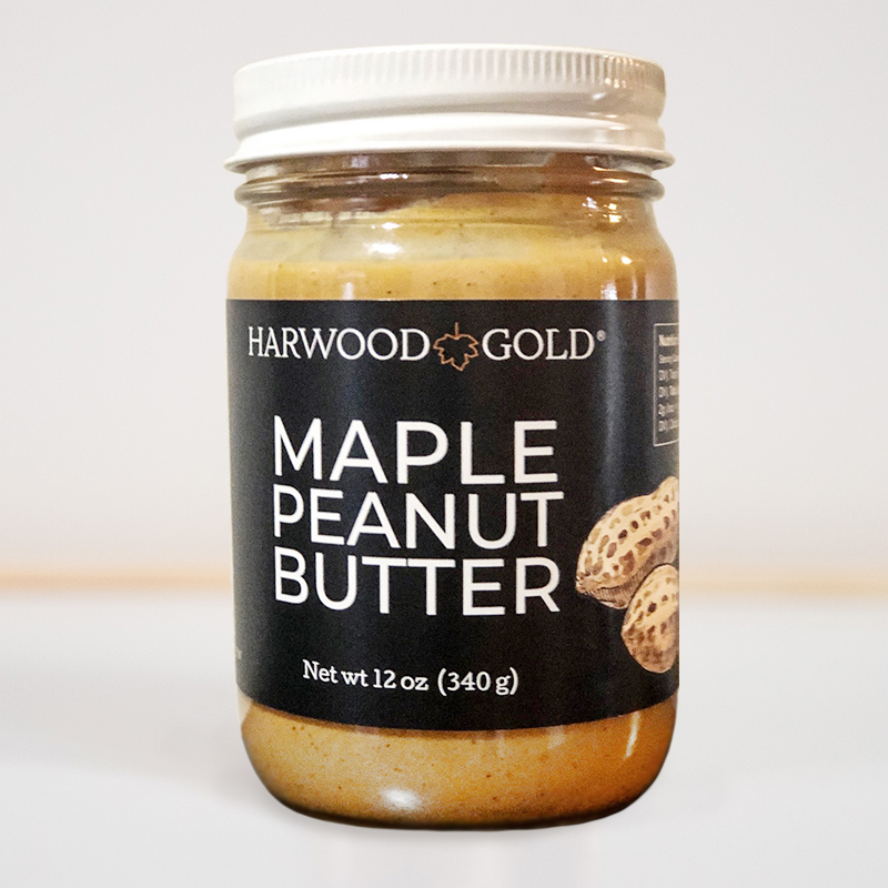 Harwood Gold Maple Peanut Butter