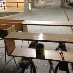 Harwood Menuisier étagères livres meuble bois