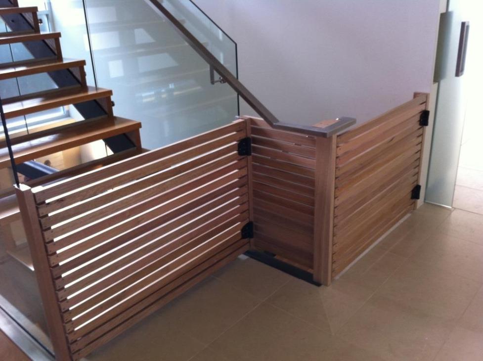 Harwood Menuisier barrière de sécurité escalier bébé