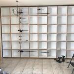 Harwood Menuisier bibliothèque bois mdf