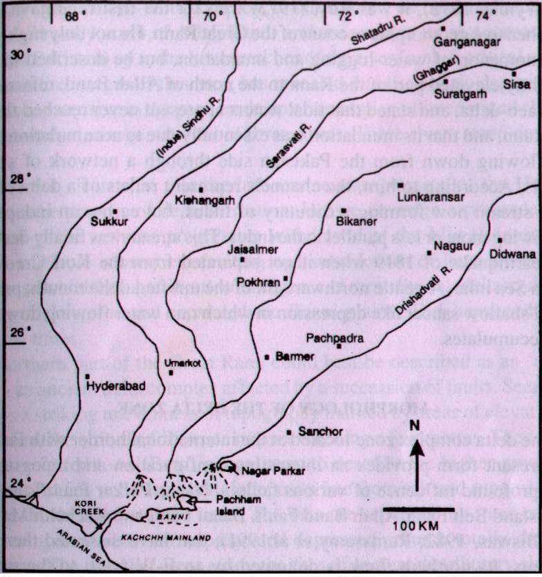 Rivers and Drainage System of Haryana - Haryana PCS Free Notes