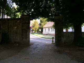Bild: Das Grüne Tor in Hettstedt.