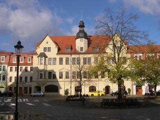 Bild: Das Rathaus der Stadt Hettstedt.