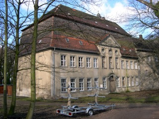 Bild: Barockbau des Schlosses zu Gänsefurth.