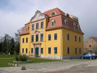Bild: Das Schloss zu Schafstädt.