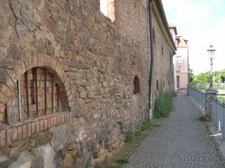 Bild: Am Brücktor oder Wassertor beziehungsweise Kordegarre in Hettstedt.