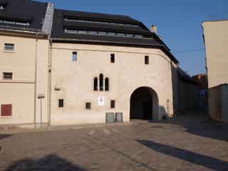 Bild: Der Graue Hof in Aschersleben. Außenansicht.