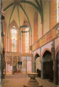 Bild: In der Schlosskirche zu Mansfeld.