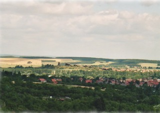 Bild: Die Teufelsmauer bei Stecklenberg.
