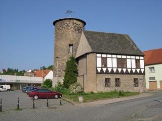 Bild: Die Burg von Hettstedt.