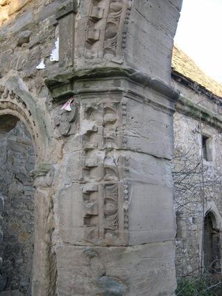 Bild: Impressionen von der Ruine Haus Zeitz aus dem Jahre 2006.