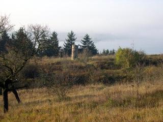 Bild: Die Galgensäule bei Seeburg am Süßen See.