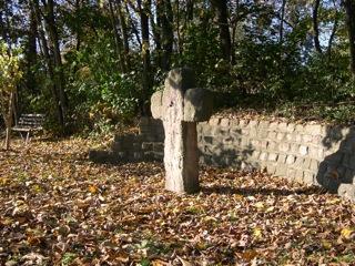 Bild: Das Steinkreuz von Welfesholz.