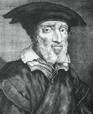 Bild: Portrait des Matthias Flacius. Dieses Bild ist gemeinfrei, weil seine urheberrechtliche Schutzfrist abgelaufen ist.