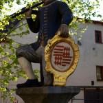 Bild: Eisleben - Das Denkmal KAMERAD MARTIN.