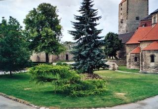 Bild: Wie in einem Märchen - die romantische Burg Querfurt.