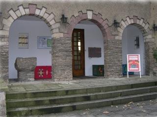 Bild: Eingangsbereich des Spengler-Museums in Sangerhausen.