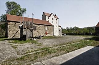 Bild: Im Klostergut Wendhusen in Thale.