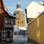 Bild: Winter 2010/2011 - In den Gassen von Harzgerode.