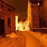 Bild: Winter 2010/2011 - Am Grauen Hof in Aschersleben.
