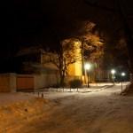Bild: Winter 2010/2011 - In Aschersleben.