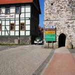 Bild: Stolberg - Oldtimer am Stadtturm.