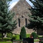 Bild: Auf dem Wiperti-Friedhof zu Quedlinburg - An der Kirche St. Wipertii.